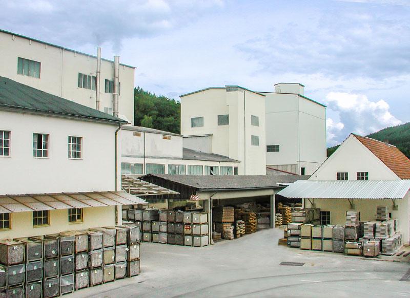 Produktionsgebäude in Weißenbrunn